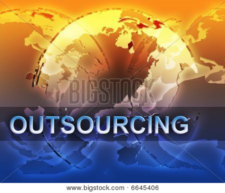 Globalization and  outsourcing